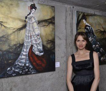 Автор выставки «Faces», Татьяна Шимко рассказала о своей выставке в Lera Litvinova Gallery